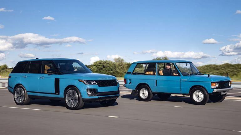 Land Rover выпустил юбилейную версию Range Rover Fifty 1