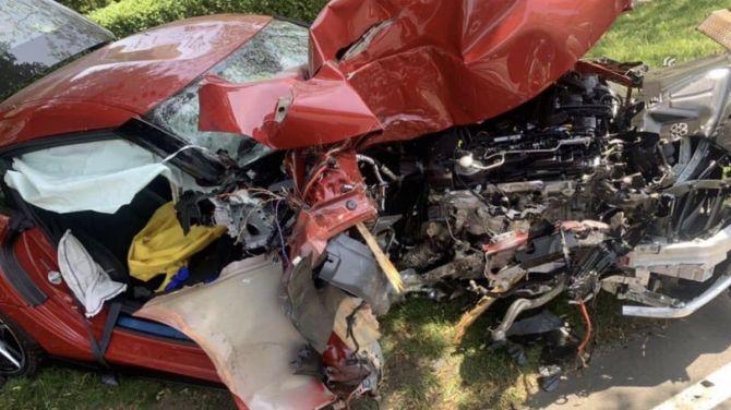 Новую Supra вдребезги разбили через километр после выезда от дилера (ФОТО) 5