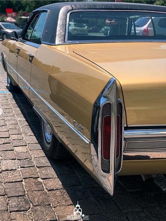 В Украине засняли культовый, роскошный Cadillac 60-х. 2
