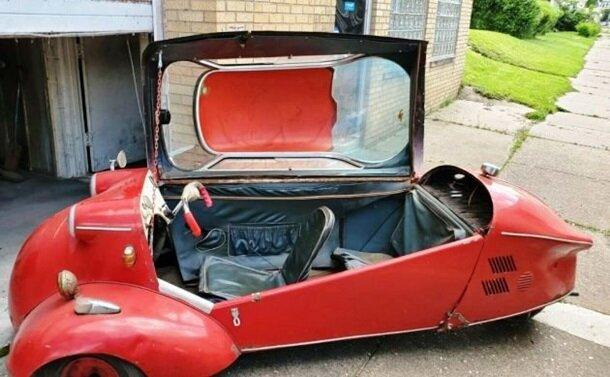 Коллекционер продает уникальный автомобиль 60-х: Разгоняется до 90 км/час на трех колесах (фото) 1