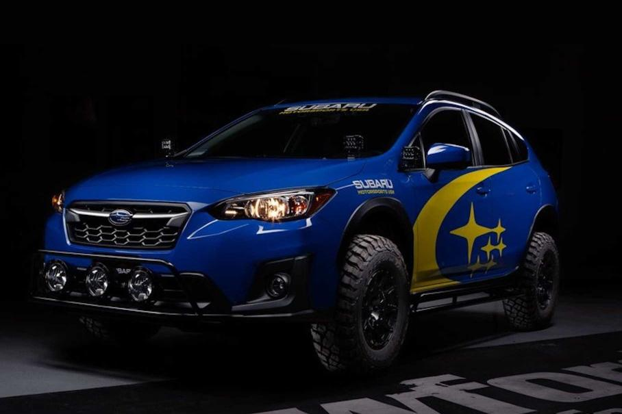 Subaru XV превратили в раллийный багги с 27-сантиметровым клиренсом 1