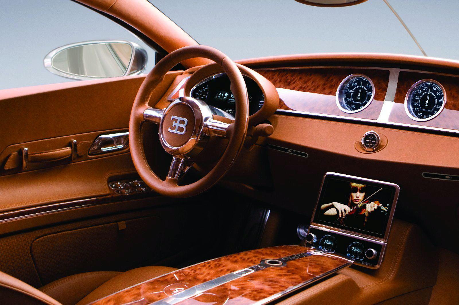 Bugatti выпустит 1500-сильный седан 2