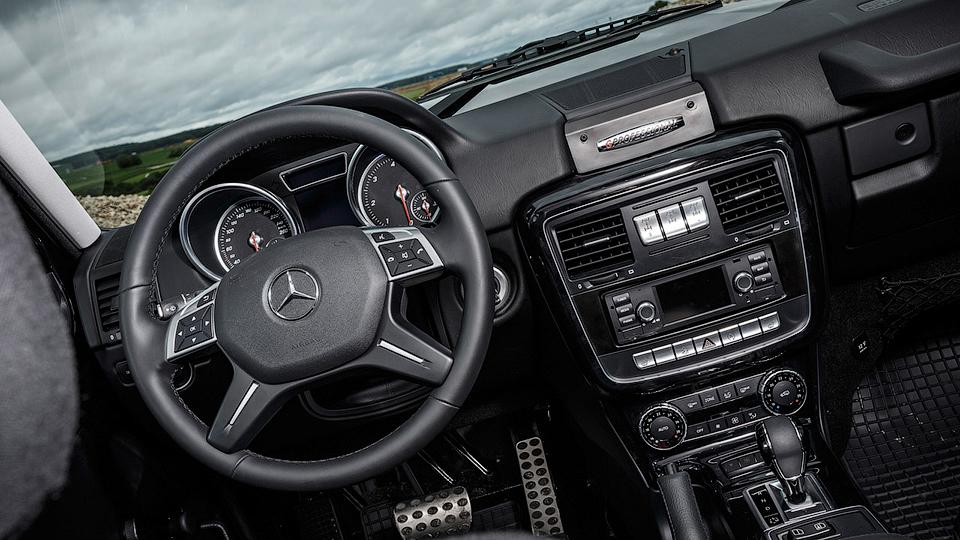 Впервые за пару лет выпустили новую версию Geländewagen 3