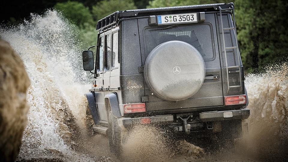 Впервые за пару лет выпустили новую версию Geländewagen 2