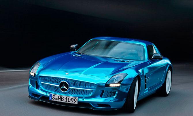 Компания Mercedes презентует 4 новые модели 1
