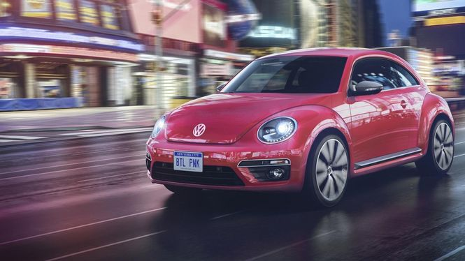 Volkswagen выпустил эксклюзивную версию «Жука» для милых дам 1