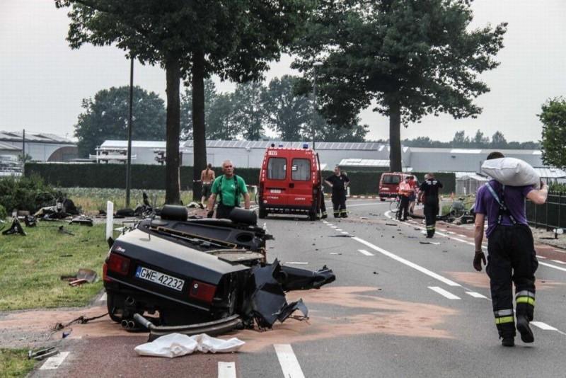 Дочь В.Путина разбилась на Audi S8 ехавшей на скорости 160 км/ч 1