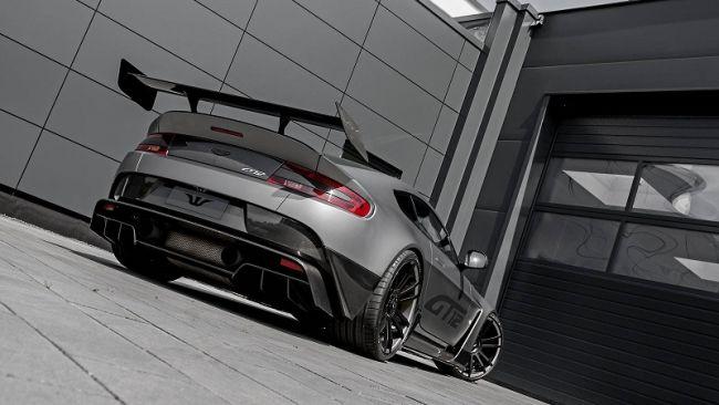 Aston Martin официально представила спорткар Vantage GT12 2