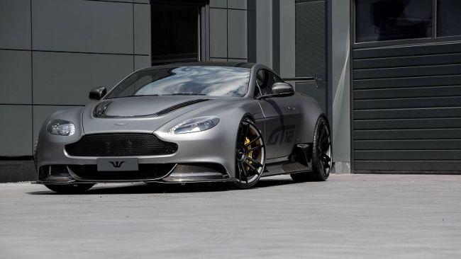 Aston Martin официально представила спорткар Vantage GT12 3
