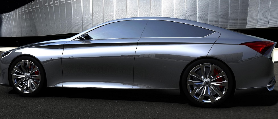 Hyundai выпустит премиальный электрокар 1