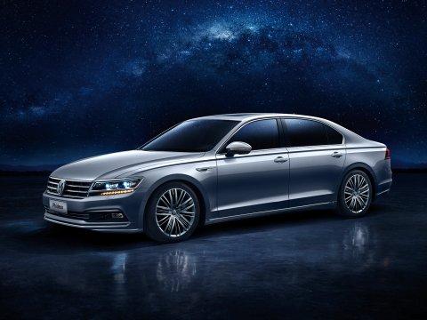 На китайский рынок выходит седан Volkswagen Phideon 2