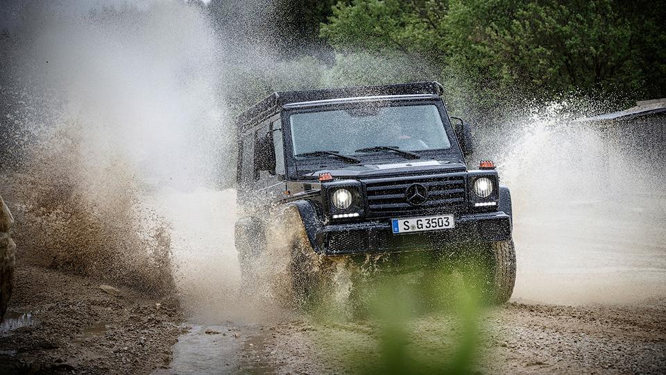 Впервые за пару лет выпустили новую версию Geländewagen 1
