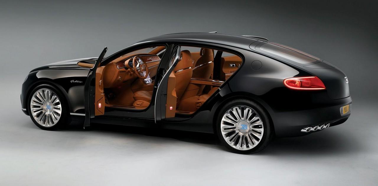 Bugatti выпустит 1500-сильный седан 1
