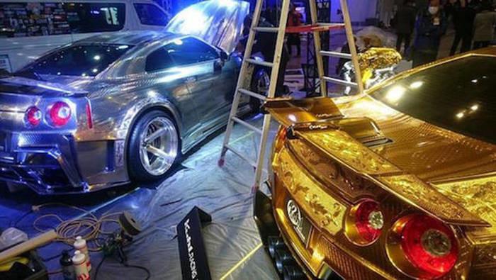 Пример сложнейшей покраски автомобиля 7
