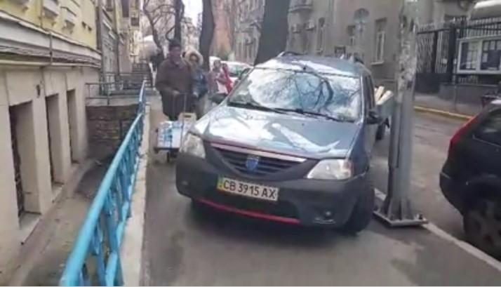Черниговский водитель превзошел всех «автохамов» в Киеве 1