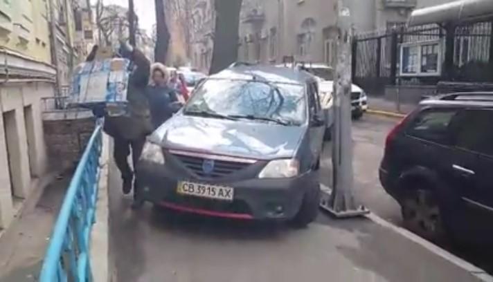 Черниговский водитель превзошел всех «автохамов» в Киеве 2