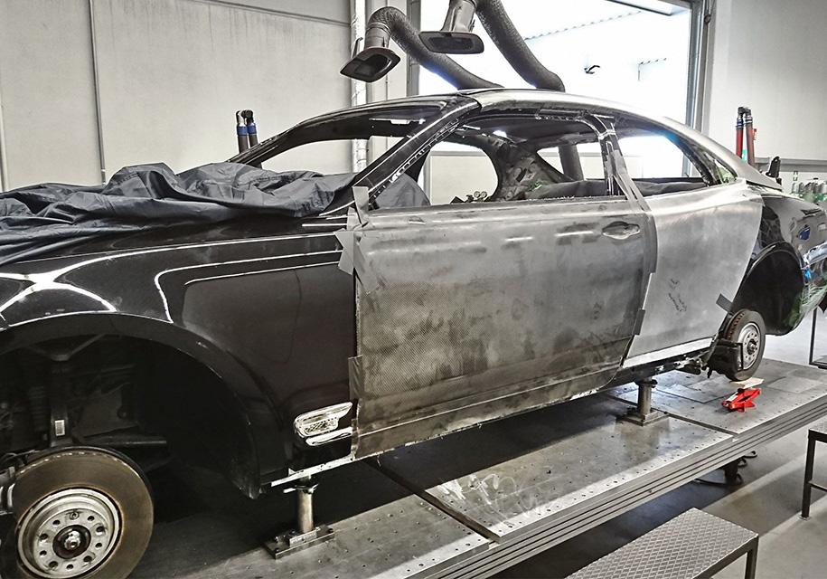 Немцы сделают купе из роскошного лимузина Bentley 2