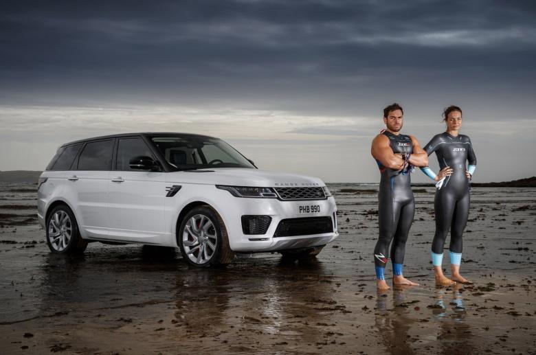 Новый Range Rover Sport испытали в море 1