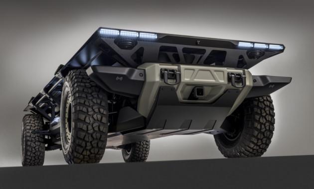 General Motors представил высокотехнологичный грузовой концепт 2