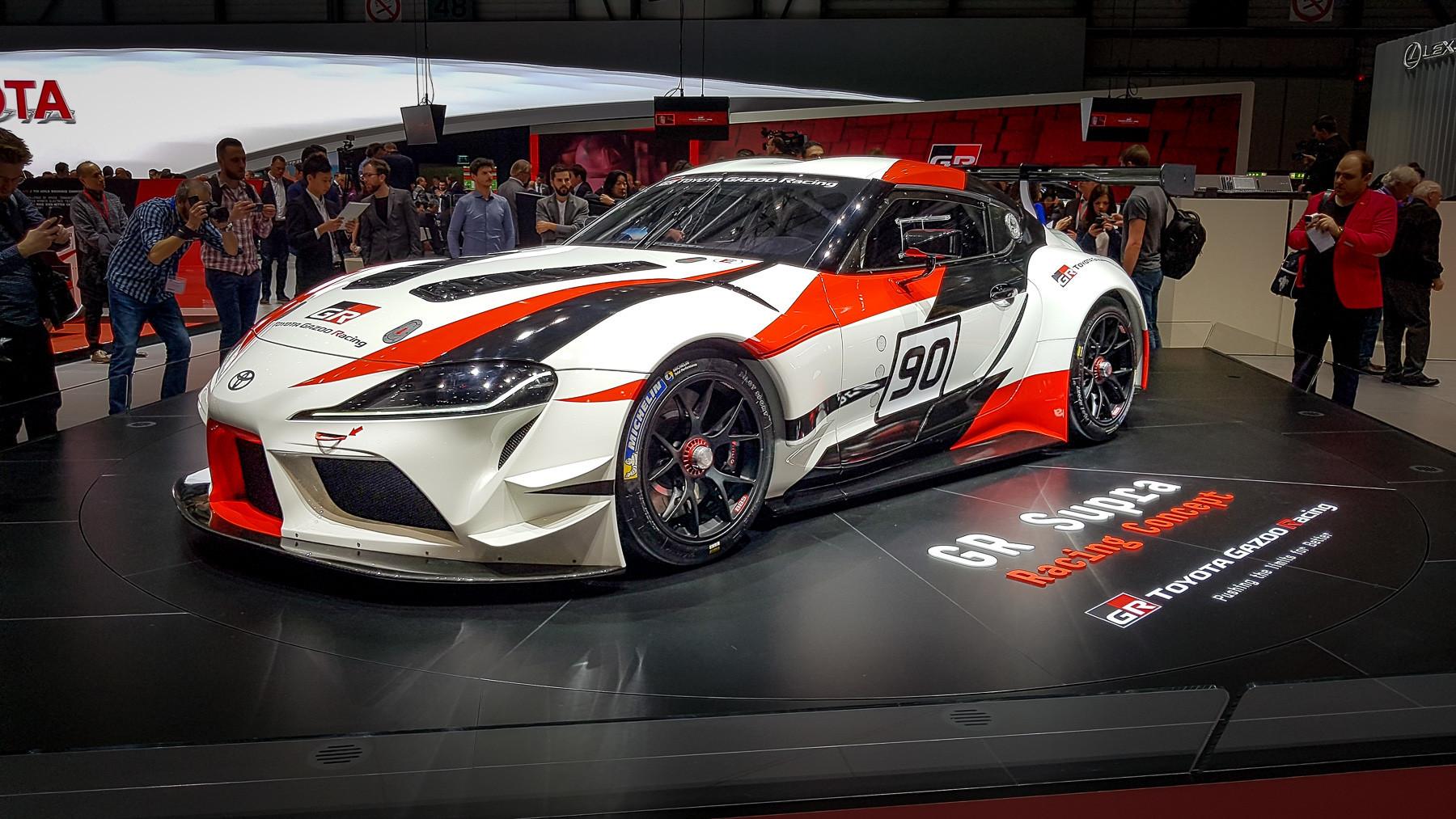 Появились свежие подробности о новой Toyota Supra 1