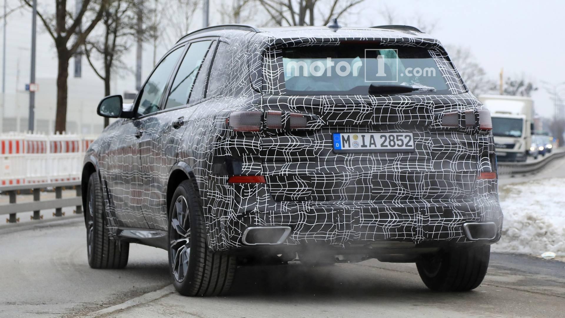 Фотошпионы «засекли» новый BMW X5 3