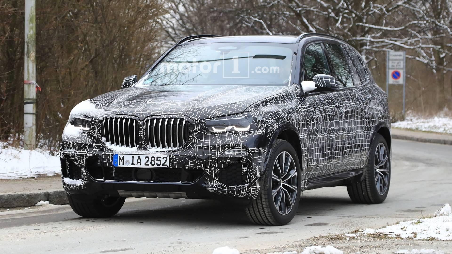 Фотошпионы «засекли» новый BMW X5 1