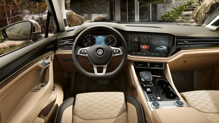Новый Volkswagen Touareg получил ценник 2