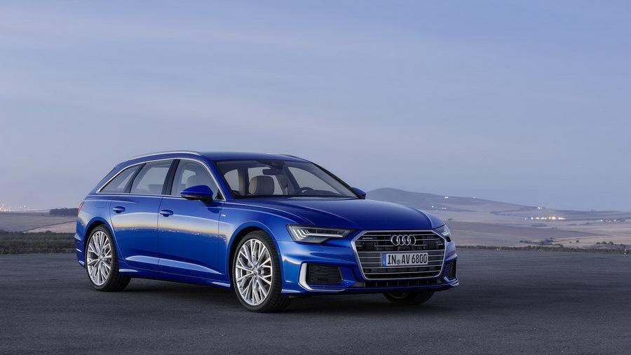 Компания Audi презентовала универсал A6 нового поколения 1