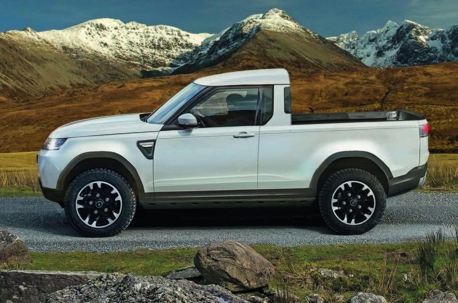Land Rover Defender станет пикапом 1