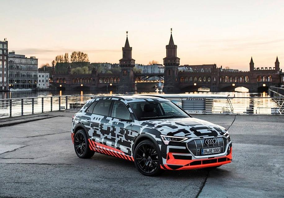 Первый электрокроссовер Audi проедет без подзарядки 400 километров 1