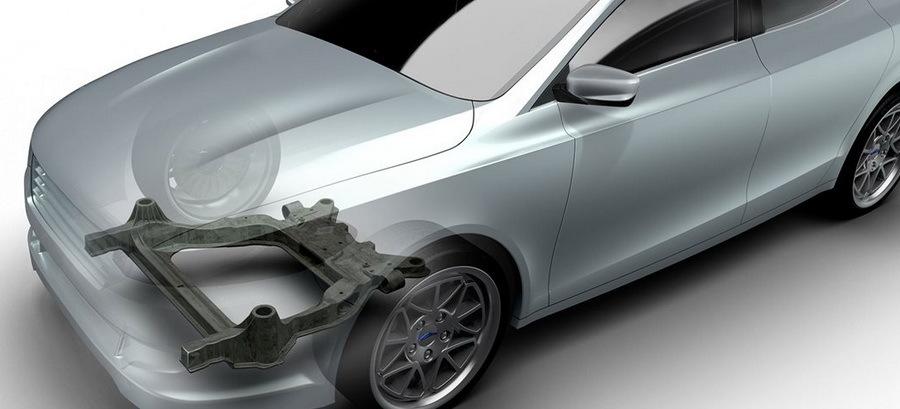 В подвеске «Фордов» хотят применять подрамники из пластика 1