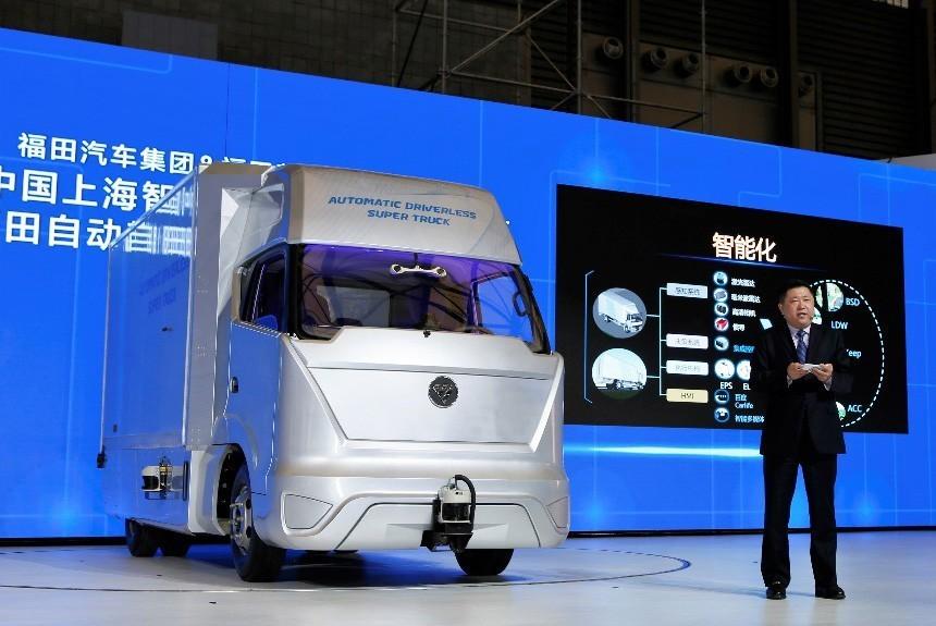 Китайцы приступили к испытаниям «грузовика будущего» 1