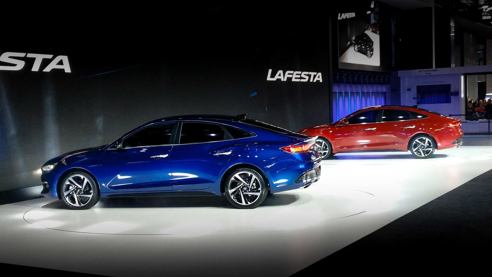 Hyundai представил «купеобразный седан» с чужим именем 2