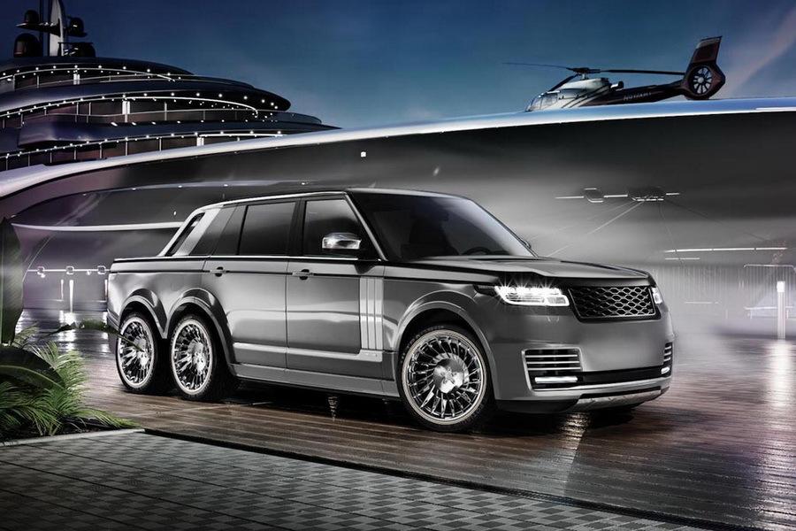 Роскошный Range Rover предлагается как аксессуар для олигархов 1