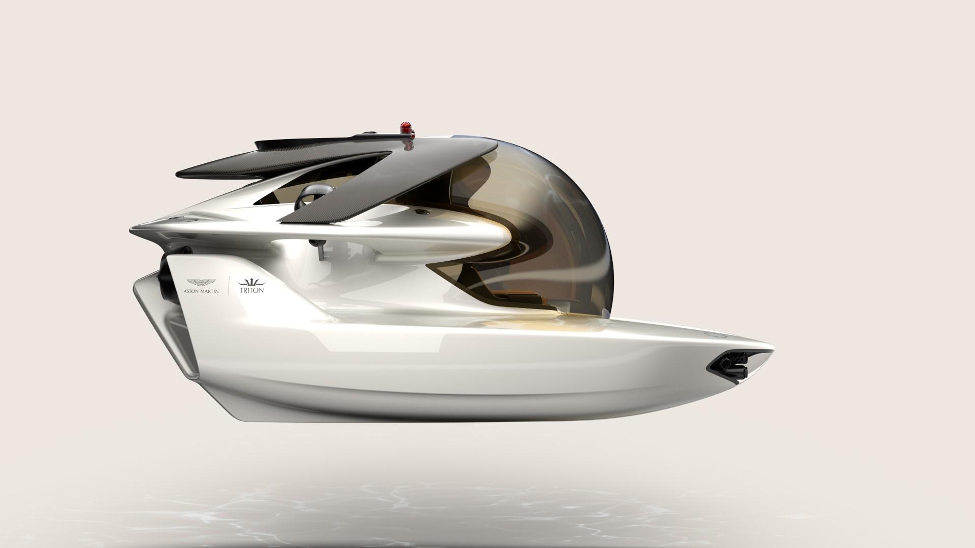 Aston Martin займется производством подводных лодок 2