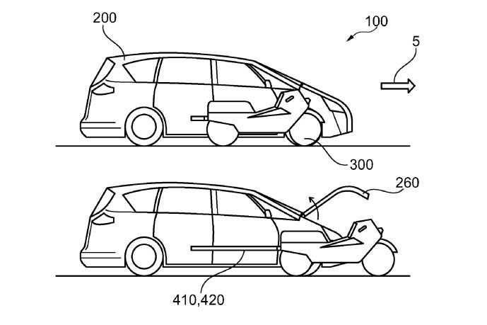 Ford запатентовал очень странный автомобиль 1