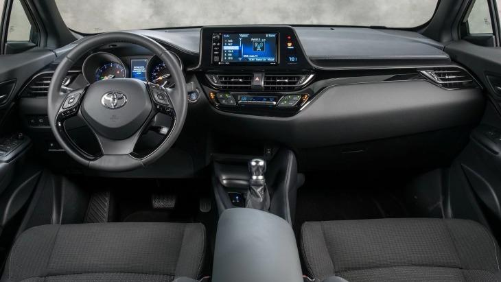 Кроссовер Toyota C-HR обновился 2