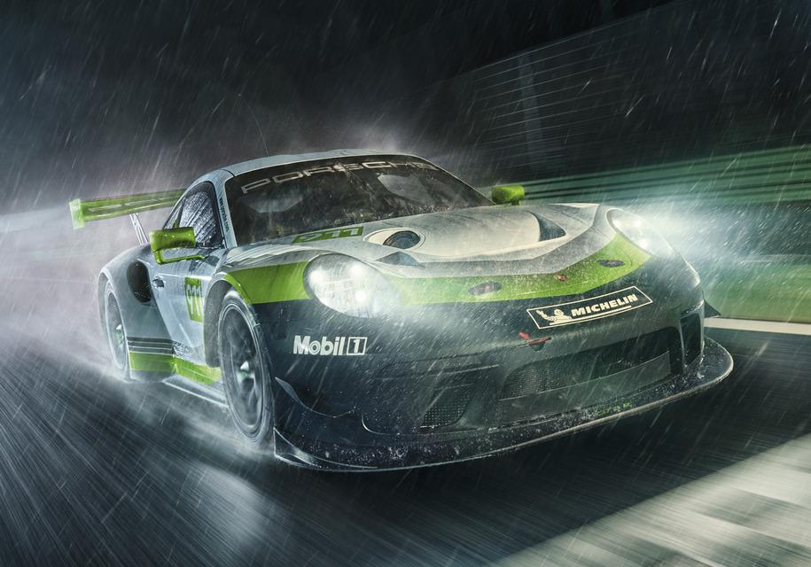 Porsche усовершенствовала гоночный 911-й 1