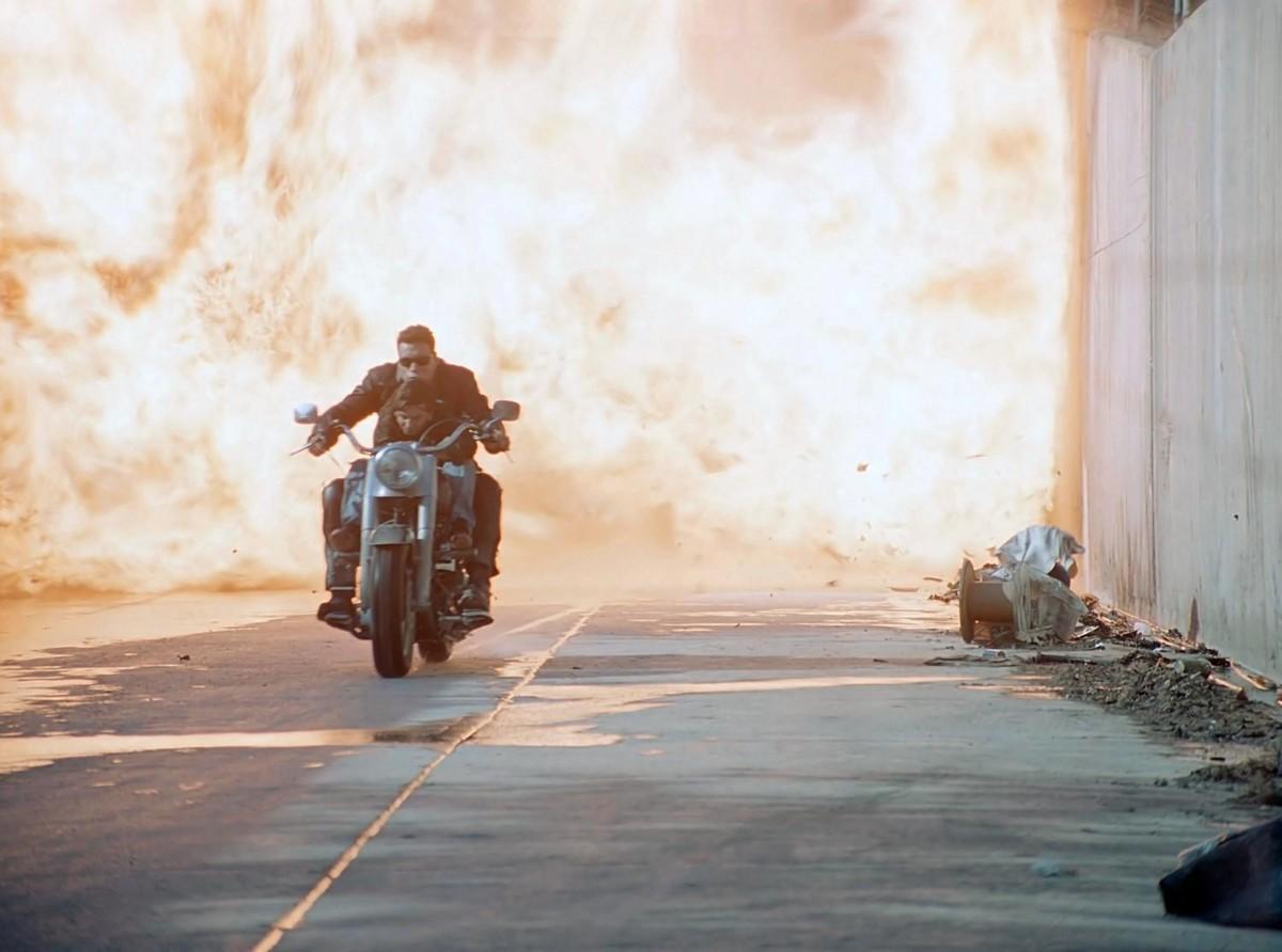 Harley-Davidson из «Терминатора» продадут на аукционе 1