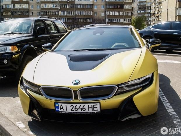 В Украине замечен редчайший BMW 1