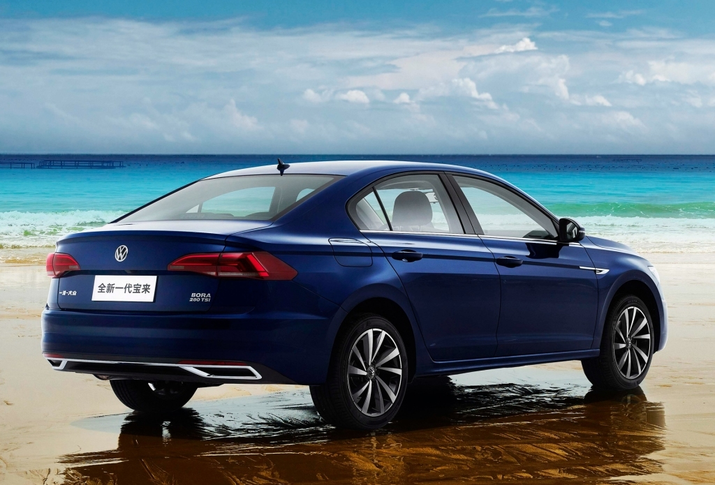 Volkswagen запутал всех новой «Борой» 2