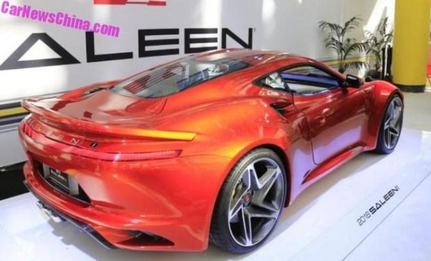 В Китае презентовали спорткар Saleen S1 за $100 тысяч 1