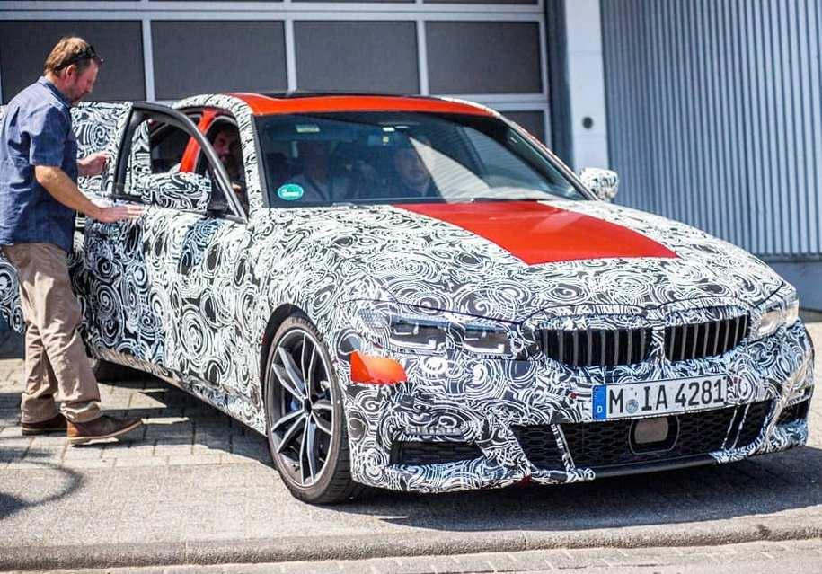 Новый BMW 3-й серии замечен на Нюрбургринге 1