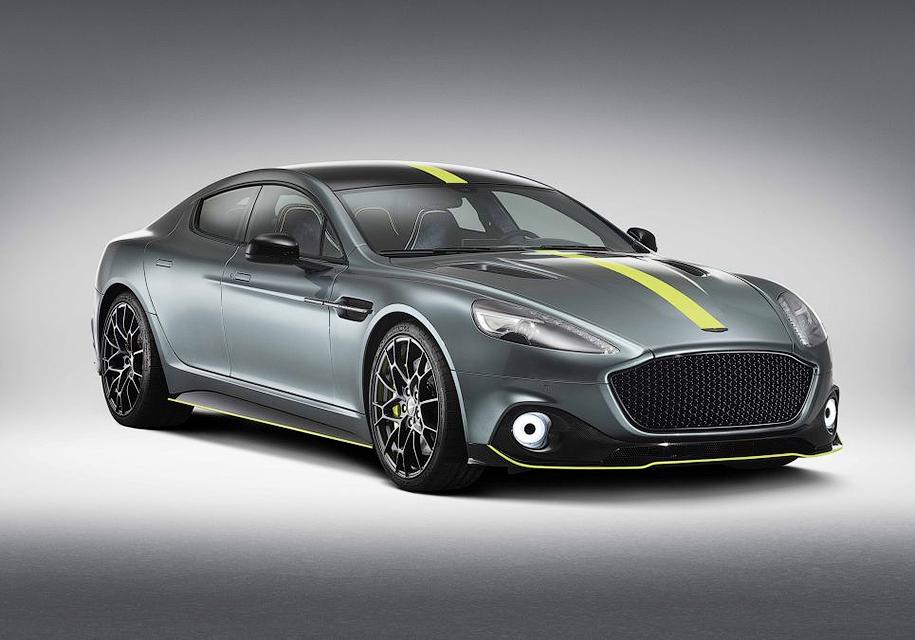 Aston Martin построил экстремальный 603-сильный Rapide 1