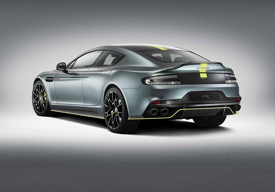 Aston Martin построил экстремальный 603-сильный Rapide 2