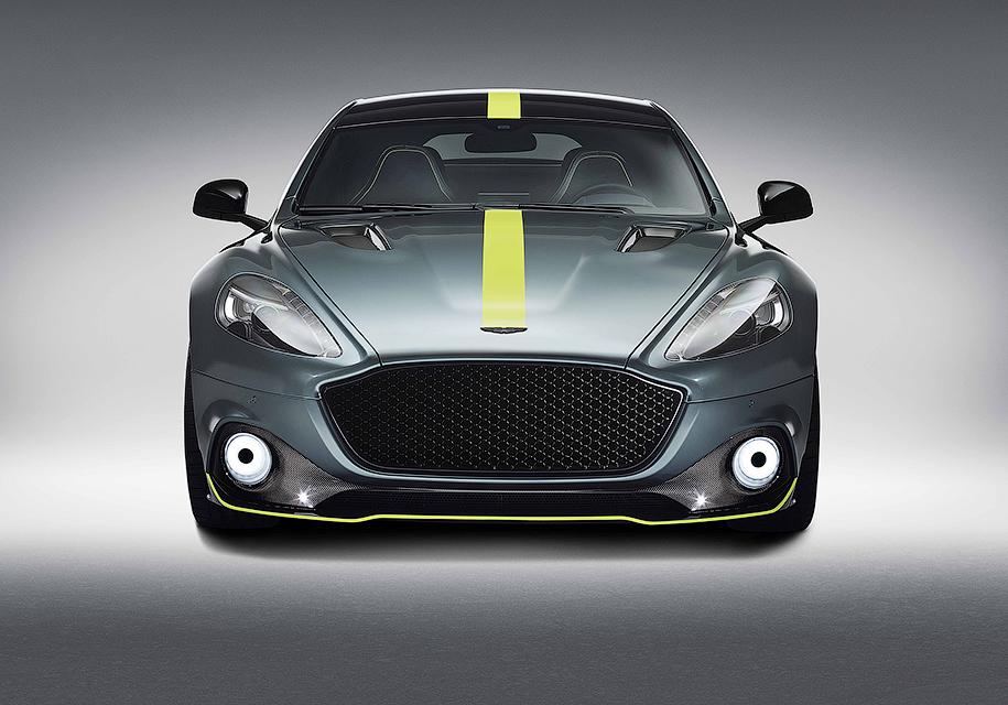 Aston Martin построил экстремальный 603-сильный Rapide 4