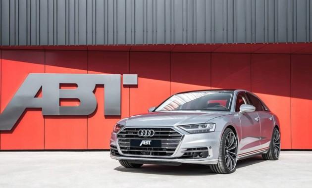 Дизельный Audi A8 оснастили 330-сильным мотором 1