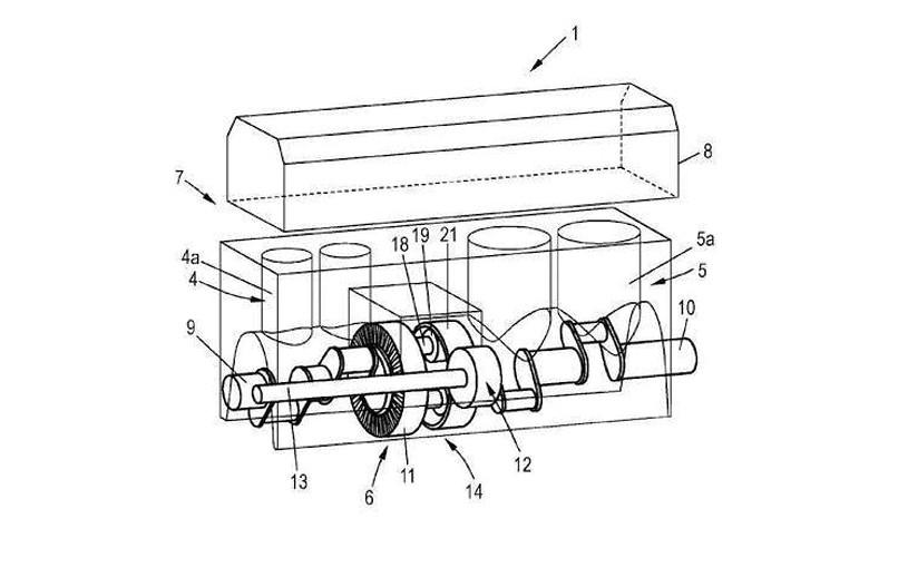 Компания Audi запатентовала новый тип ДВС 1