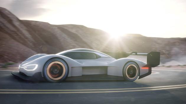 Volkswagen рассекретил характеристики электро-болида I.D. R Pikes Peak 1