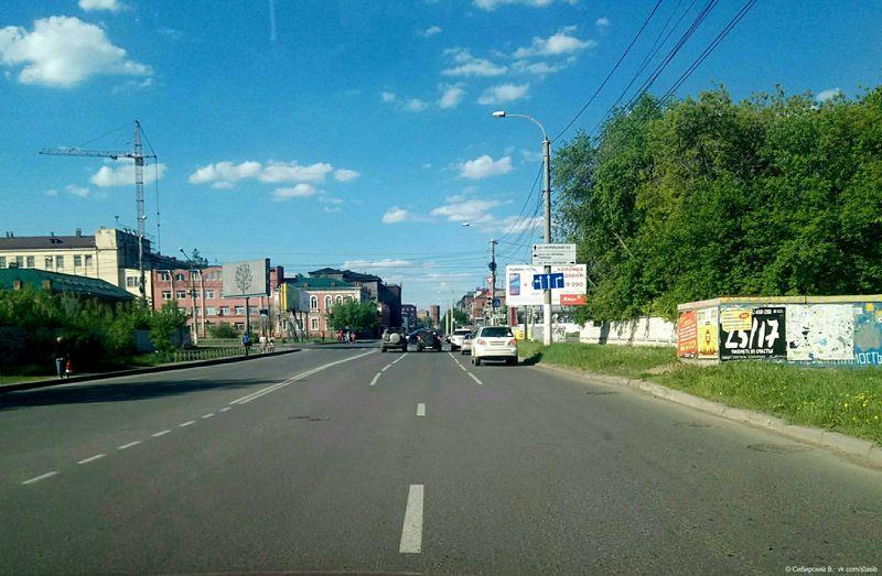 В России появилась очень странная дорожная разметка 1